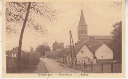 Grimbergen - Pont Brûlé - L' Eglise - De Kerk En Omgeving - Uitg. Ed. Laureys, Grimbergen - Grimbergen