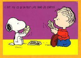 Illustrateur Schulz    Snoopy  C'est Fou Ce Qu'on Peut Lire Dans Les Cartes    Edt   Interstat  N° - Schulze, Hans Rudolf