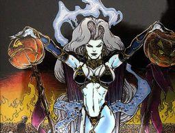 Fantaisie Erotique BD COMICS Erotic Fantasy  LADY DEATH Science Fiction Sexe Diable Demon Jarretelles Devil Pumpkins - Trading Cards