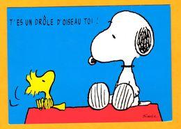 Illustrateur Schulz    Snoopy Tu Es Un Drole D'oiseau Toi  Edt   Interstat  N° - Schulze, Hans Rudolf