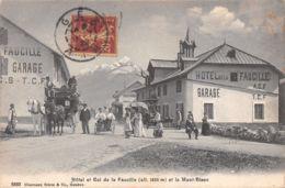 Col De La Faucille (01) - Hôtel Et Le Mont Blanc - Gex