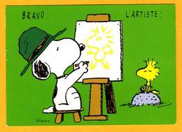 Illustrateur Schulz    Snoopy    Bravo L'artiste   Edt   Interstat  N° - Schulze, Hans Rudolf