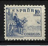 ESPAÑA **830 Nuevo Sin Charnela. Cat.215 € - 1931-50 Neufs
