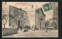 CPA Marbache, Cafe-Restaurant De La Gare - France