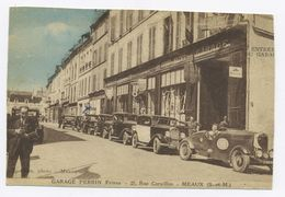 E474 Carte Postale Ancienne CPA Meaux Garage Perrin Voiture Sport Automobile Jean-Pierre Beltoise - Turismo