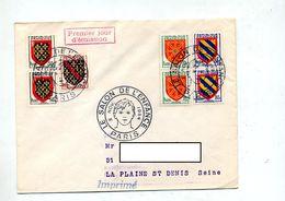 Lettre Cachet   Paris Salon Se L'enfance Sur Armoirie - Postmark Collection (Covers)