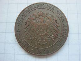 German East Africa , 1 Pesa 1892 - Afrique Orientale Allemande