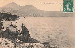 66 La Grande Bouillouse Et Le Pic Puig Peric Cpa Carte Animée - Andere Gemeenten