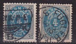 Denmark 1875, Vfu - 1864-04 (Christian IX)