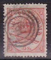 Denmark 1884, Vfu. Cv 8 Euro But Has Small Tear - 1864-04 (Christian IX)