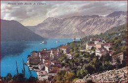 Perast (Perasto) * Bocche Di Cattaro, Bucht Von Kotor, Gesamtansicht * Montenegro * AK2942 - Montenegro