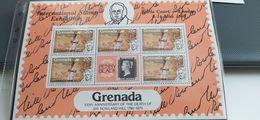 GRENADA 1980 ROWLAND HILL POSTA TRASPORTO - INTEGRI - Grenada (1974-...)