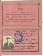 NICE . 1913 . PERMIS DE CONDUIRE AUTOMOBILES AVEC MOTEUR A PETROLE - Voitures