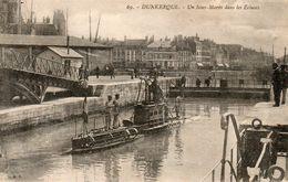 59770DunkerqueUn Sous Marin Dans Les écluses69Ecrite - Dunkerque