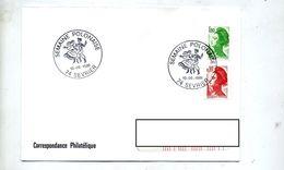 Lettre Cachet Sevrier Semaine Polonaise - Postmark Collection (Covers)