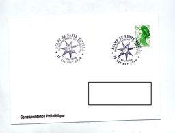 Lettre Cachet Vic Sur Cere Rassemblement Pays D'oc - Postmark Collection (Covers)
