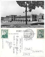 Isfahan (Iran). Khaju Bridge. Viaggiata 1954 - Iran