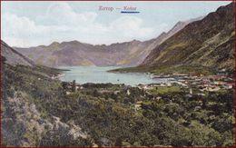 Kotor (Cattaro) * Bucht, Berge, Landschaft * Montenegro * AK2944 - Montenegro