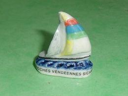 Fèves / Sports : Vendée Globe 2000 , Voilier , Brioche Vendéennes Sicard  T54 - Sport