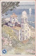Savina * Kloster, Segelboot, Schiffe, Bucht Von Kotor * Montenegro * AK2945 - Montenegro