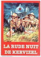 SCOUTISME. PIERRE JOUBERT. FLYER PUBLICITAIRE. LA RUDE NUIT DE KERVIZEL - Scoutisme