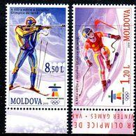 Moldavie Moldova 0602/03 JO Vancouver Canada - Invierno 2010: Vancouver