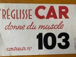 1 BUVARD REGLISSE CAR - Alimentos