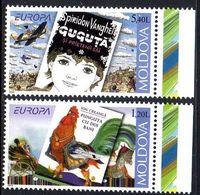 Moldavie Moldova 0615/16 Europa, Coq , Litterature, Enfant, Calèche - Europa-CEPT
