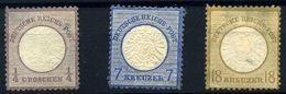 Alemania Imperio Nº 13, 23 25. Año 1872 - Unused Stamps