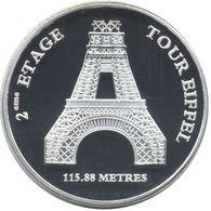 S&P166 - PARIS - Tour Eiffel (2ème étage) / Souvenirs Et Patrimoine - Touristiques