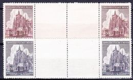 Boheme Et Moravie 1944 Mi 140-1 (Yv 119-20), (MNH)** Paires Avec Interpaneau - Bohemia & Moravia