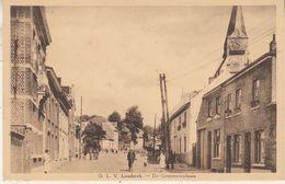 O.L.V. Lombeek - De Gemeenteplaats - Geanimeerd - Em. Beernaert, Lokeren - Roosdaal