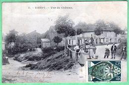 7 - VANDY - VUE DU CHATEAU - Altri Comuni