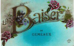 GEMEAUX .... UN BAISER - France