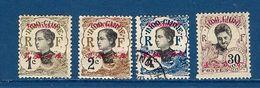 "Tch'ong-K'ing YT 65 66 67 73 "" Indochine Surchargé "" 1908 Neuf*/oblitéré - Ungebraucht"