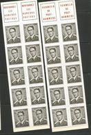 Postzegelboekjes B3 Tot En Met B7 ** - Booklets 1953-....