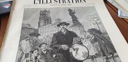 ILL 88 /GENERAL BOULANGER DUNKERQUE CRIEUR KLEINKUER /REUNION DENAIN /PARTI BOULANGISTE - Bücher, Zeitschriften, Comics
