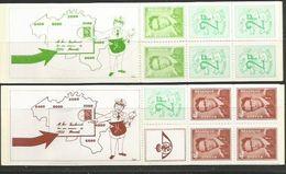 Postzegelboekjes B8 En B9 ** - Booklets 1953-....