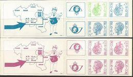 Postzegelboekjes B10 En B11 ** - Booklets 1953-....