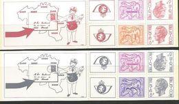 Postzegelboekjes B14 En B15 ** - Booklets 1953-....