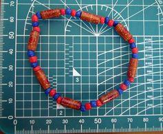 BRACCIALE MATERIALE PLASTICO ELASTICIZZATO  BIGIOTTERIA - Bracelets