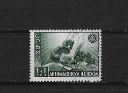 Serbie Occup Allemande Yv. 48 O. - Serbien