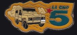65743-Pin's-Télévision.médias.la 5.la Cinq.Rallye Automobile Dakar. - Médias