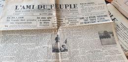 L AMI DU PEUPLE 36 /ESPAGNE GUERRE CIVILE /GREVE BATELLERIE ROUEN /BELGIQUE DEVEZE / - Newspapers
