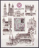 Polen, 1983, 2843 Block 90,  MNH **, Restaurierung Krakauer Baudenkmäler - Blocks & Sheetlets & Panes