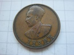 Ethiopia , 5 Cents 1936 (1943/44) - Etiopía