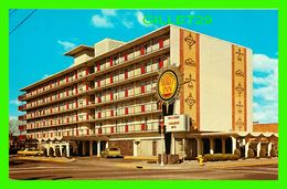 ALBUQUERQUE, NM - QUALITY INN - ANIMATED WITH OLD CARS -  DEXTER PRESS - CARDS UNLIMITED - - Albuquerque