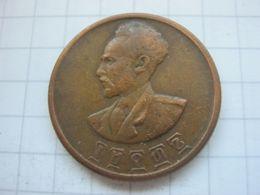 Ethiopia , 10 Cents 1936 (1943/44) - Etiopía