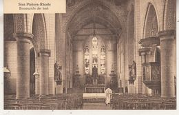 Sint-Pieters-Rhode - Binnenzicht Der Kerk - Uitg J Wouters-Van Den Bulck, Averbode - Eglises Et Cathédrales