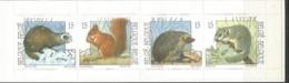 Postzegelboekjes B23 **. Natuur. Kleine Zoogdieren - Booklets 1953-....